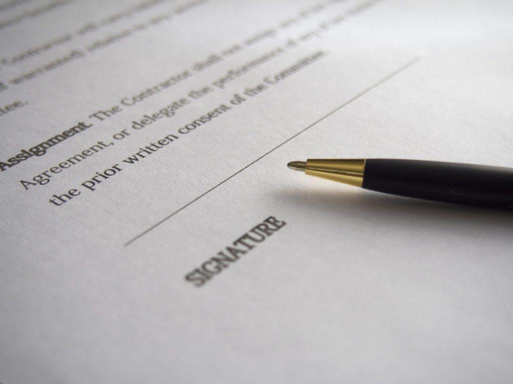 Publishing overeenkomsten contracten